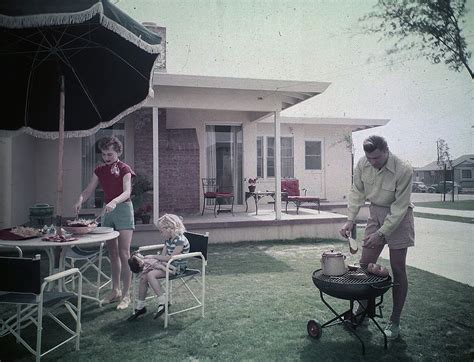 American Backyard by The American Backyard As We It Developed After World