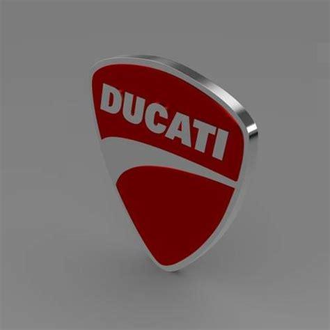 kaos ducati ducati logo 5 ducati logo 3d model max obj 3ds fbx c4d lwo lw