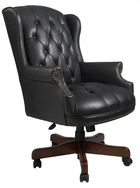pictures of office chairs wingback traditional office chair