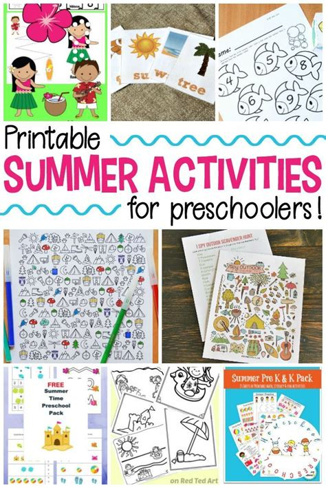 25 Free Printable Summer Activities For Kids Of All Ages  Book Log, Activities And Summer