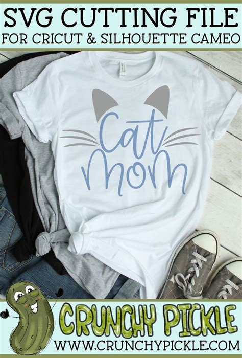 cat mom svg cricut dog mom shirt cat shirts