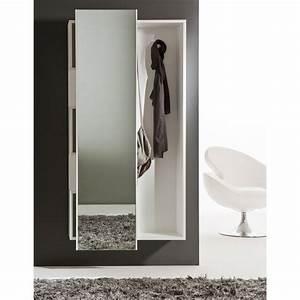 Mobile da ingresso con specchio scorrevole Welcome ARREDACLICK