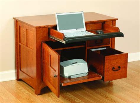 computer and printer desk amish mission laptop desk amish office furniture sugar