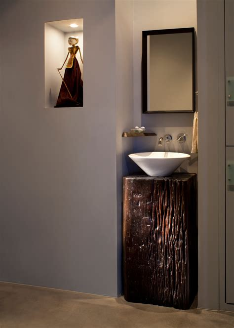 impressive kohler sinks  powder room contemporary