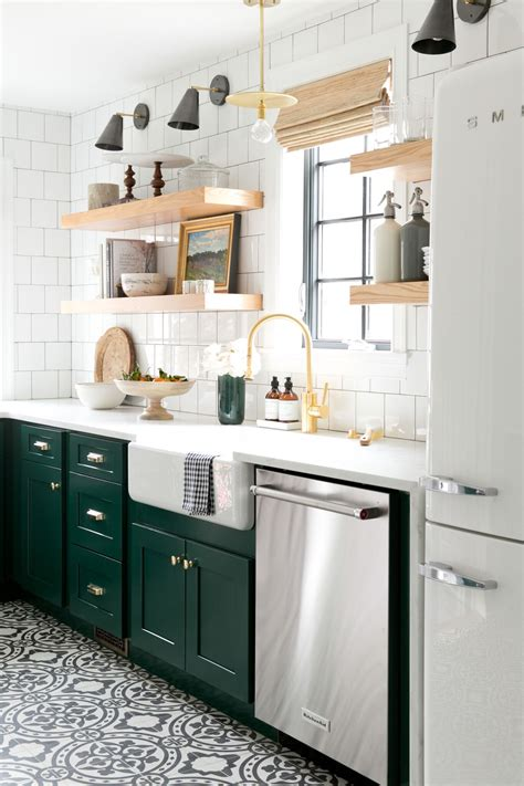 green kitchen cabinet inspiration blesser house
