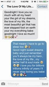 Cute Goodnight Quotes For Boyfriend. QuotesGram