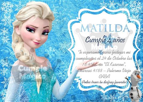 Tarjetas De Cumpleaños De Frozen Para Mandar Por Mensaje 7