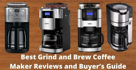 Last updated on nov 27, 2020 by editorial staff. Best Grind and Brew Coffee Maker Reviews and Buyer's Guide ...