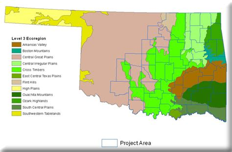 Oklahoma Current Vegetation Mapping | MoRAP