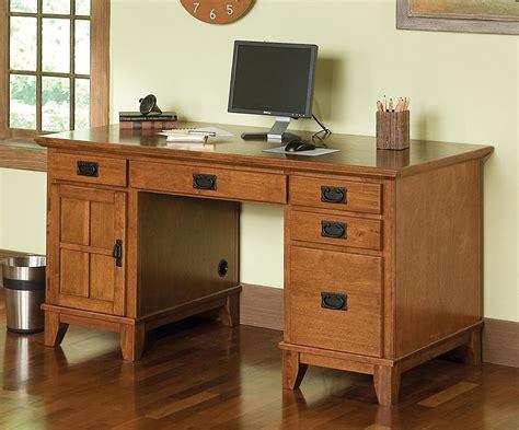 Custom Made Wood Executive Desk Live Edge Fine Art Office