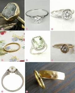 Gorgeous And Unique Etsy Engagement Rings