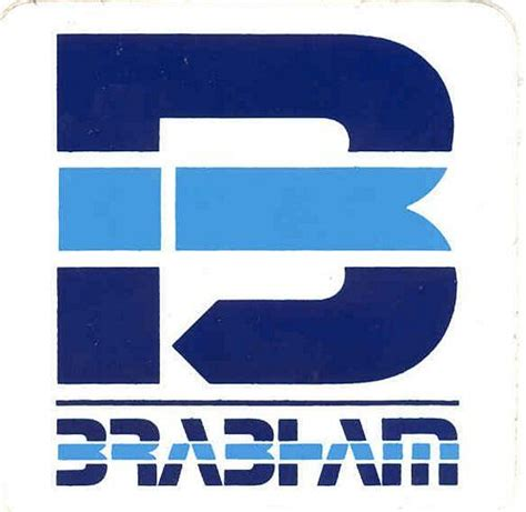 stickers and patches brabham logo sticker 7cm x 7cm f1 history pinterest stickers
