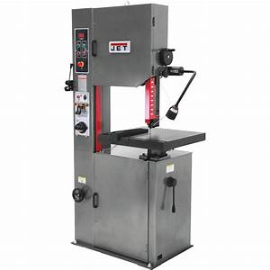 Jet Vertical Metal Cutting Band Saw  U2014 14in   1 Hp  115
