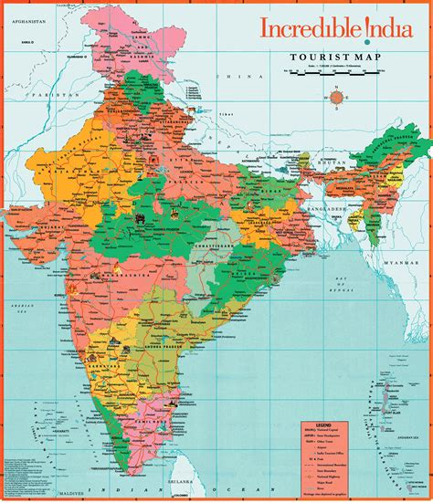 The India Map Wallposters  Hits All