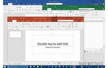 Microsoft Office 2016 screenshot #0