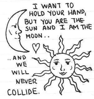 sun l for sad unrequited quote unrequited