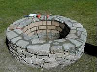 building a fire pit How to Build a Stone Fire Pit | how-tos | DIY