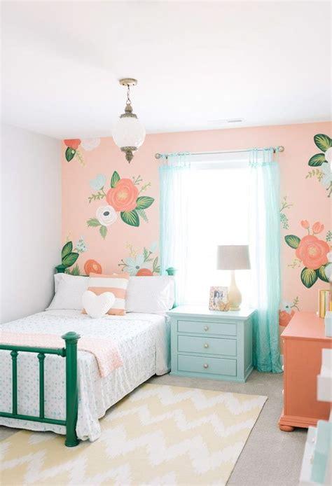 repeindre chambre peinture chambre fille 12 idées modernes et féminines