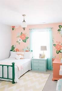 Chambre Ado Fille 12 Ans : peinture chambre fille 12 id es modernes et f minines ~ Voncanada.com Idées de Décoration
