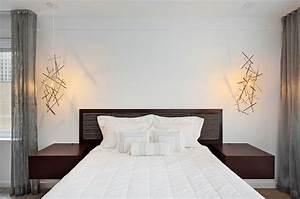 Relaxing and chic scandinavian bedroom designs