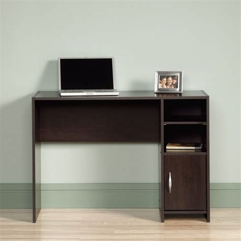 sauder beginnings computer desk cinnamon cherry desk in cinnamon cherry 415817