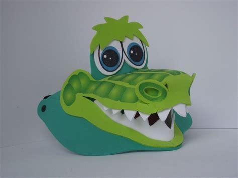 visera de cocodrilo en foami imagui disfraces cocodrilos goma y gomitas visera de cocodrilo en foami imagui disfraces pinterest gera and sombreros