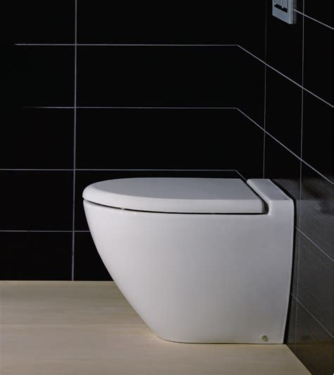 wall mounted rak reserva back to wall wc pan with standard toilet seat