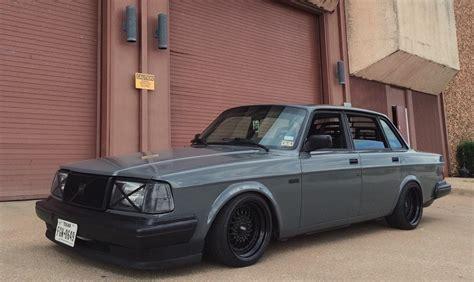 Stanced Volvo 240