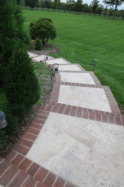 brick and concrete walkway 63 best images about front stoop walkway ideas on pinterest