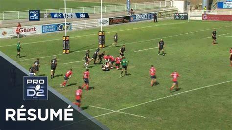 Rugby pro d2 was introduced in 2000. PRO D2 - Résumé Aurillac-Biarritz: 23-19 - J01 - Saison 2019/2020 - YouTube
