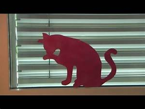 Fensterdeko Selber Machen : katze am fenster basteln fensterdeko fensterbild deko sommer diy youtube ~ Eleganceandgraceweddings.com Haus und Dekorationen