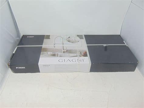 giagni fresco stainless steel pull  kitchen faucet