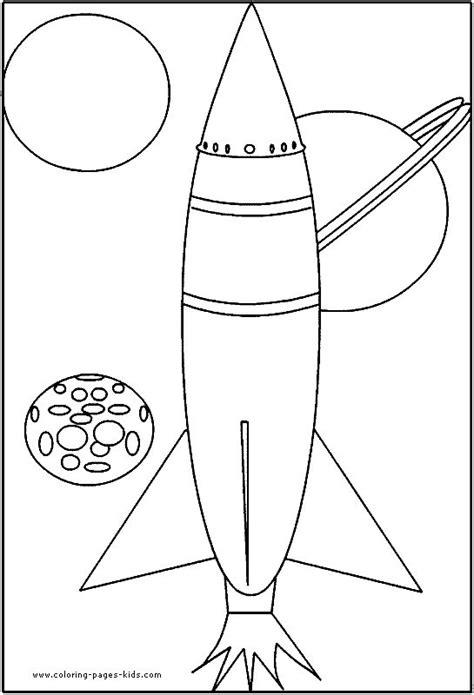 rocket color page space shuttle color page transportation