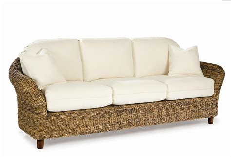 patio loveseat with ottoman seagrass sofa tangiers style