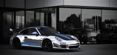 chrome porsche 911 porsche 911 gt3 rs 4 0 gets chrome wrap autoevolution