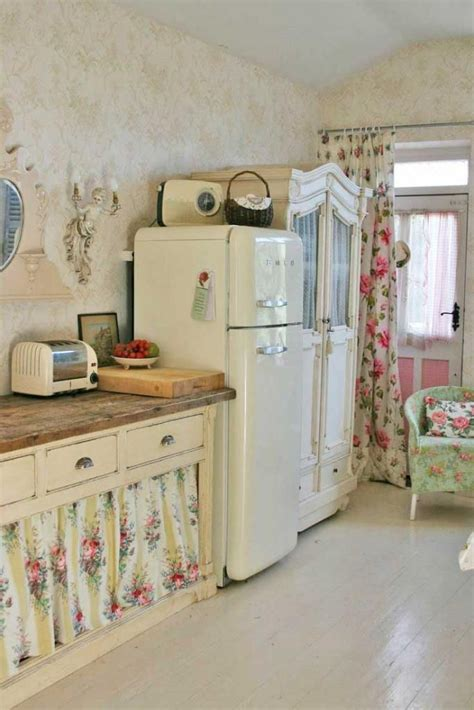 shabby chic cottage style shabby chic ain t too shabby pinterest shabby chic cabinets and floral curtains
