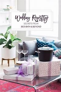 Wedding Registry Secrets From Bed Bath & Beyond
