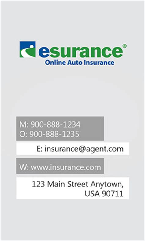 insurance agent business card allstate agents card designs