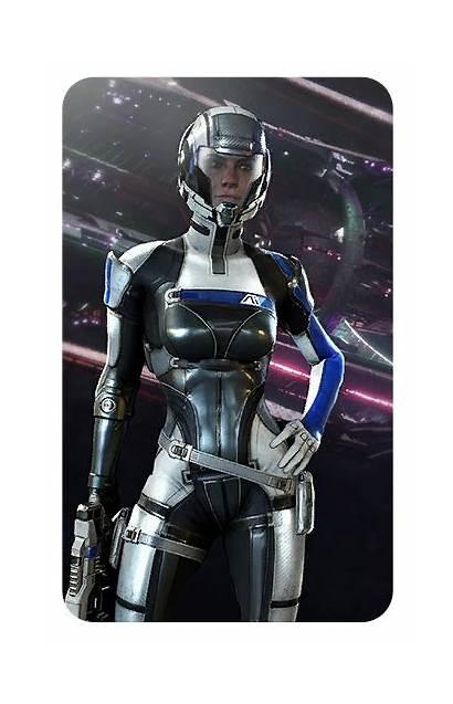 Asari Cora Mass Effect Ark Harper