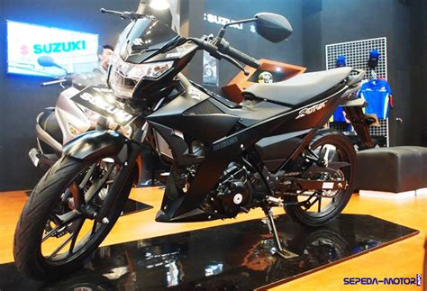 suzuki rilis motor satria f150 black predator harga rp 22 juta di giias 2016 info sepeda motor