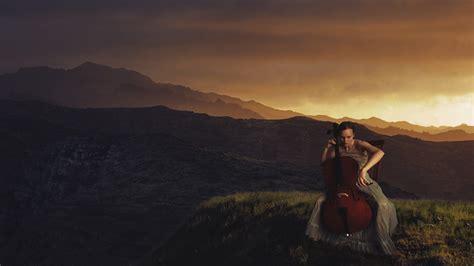 women landscape cello wallpapers hd desktop  mobile backgrounds