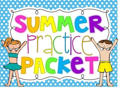 Summer Practice Packet To Get Ready For 2nd Grade! Also Great For Little Smarties Getting Ready