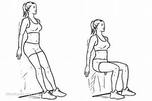 Wall Sit / Squats / Chair | WorkoutLabs