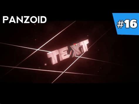 panzoid template top 10 panzoid intro templates panzoid 3d panzoid intro template 2017