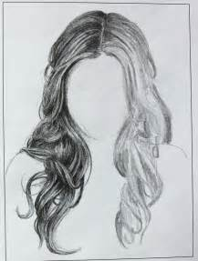 Sketches of Girls with Curly Hair