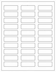 600 blank mailing address labels 2 1 4quot x 3 4quot use avery With 1 x 3 label template