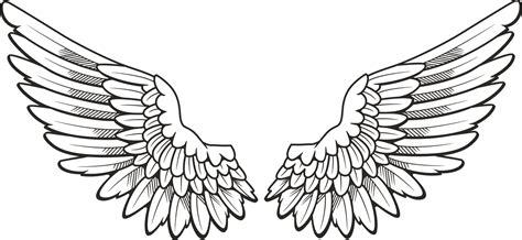 simple aviator black eagle wings clip 48