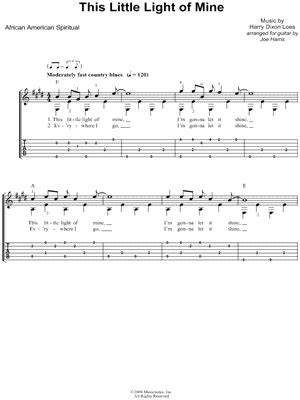this light of mine chords quot this light of mine quot from glee guitar tab