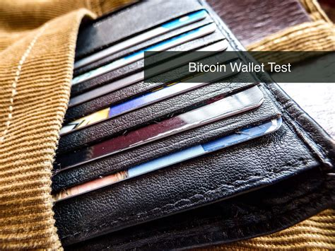The first 'factor' is your password for your wallet. Bitcoin Wallet Test | Coin Report will guide you through the crypto world : Coin Report