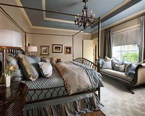 blue and beige master bedroom traditional bedroom With beige and blue bedroom ideas